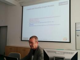 Photo of Speaker Prof. Stefan Gradmann (GDDH, 11.04.16).