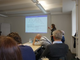 Photo of Speaker Assist. Prof. Stefan Gerdjikov (GDDH, 26.04.16)
