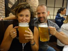 Photo of Greta and Vassilis Routsis.