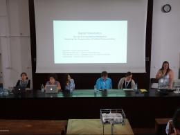 Photo of panelists.