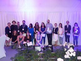 Photo of ADHO award winners.