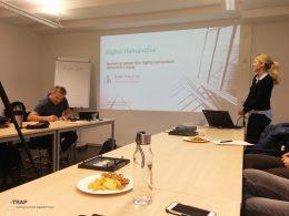 Photo of Speaker Dr. Uta Kremer (GDDH, 16.01.17)