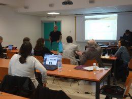 Photo of the TRACER tutorial at the Sixth AIUCD Conference, Università La Sapienza, Roma, 23-24.01.2017